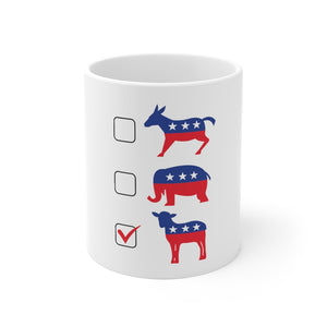 Vote Lamb Mug - Adventist Apparel