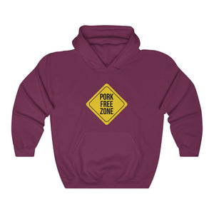 Pork Free Zone Hoodie - Adventist Apparel