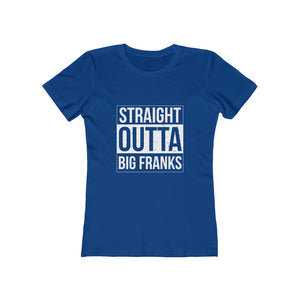 Straight Outta Big Franks Women's Tee - Adventist Apparel