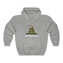 Load image into Gallery viewer, Don't Tread On Jesus Hoodie - Adventist Apparel