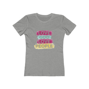 Love God Love People Women's Tee - Adventist Apparel