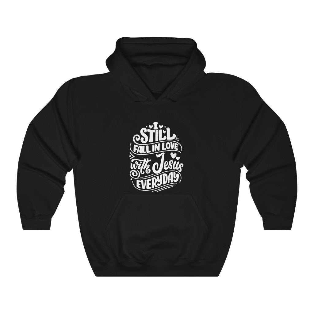 Fall In Love With Jesus Everyday Hoodie - Adventist Apparel