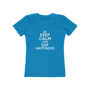 Keep Calm Eat Haystacks Women's Tee - Adventist Apparel