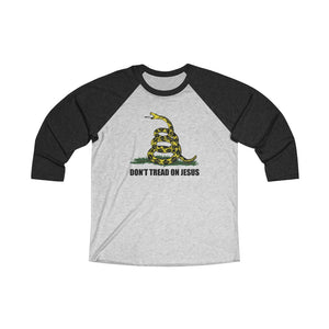 Don't Tread On Jesus Baseball Tee - Adventist Apparel