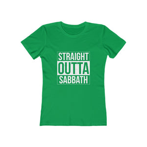 Straight Outta Sabbath Women's Tee - Adventist Apparel