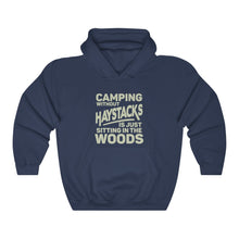 Load image into Gallery viewer, Camping Without Haystacks Hoodie - Adventist Apparel
