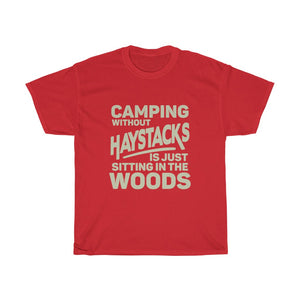 Camping Without Haystacks Unisex Tee - Adventist Apparel