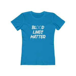 Blood Lines Matter Women's Tee - Adventist Apparel