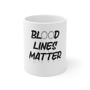 Blood Lines Matter Mug - Adventist Apparel