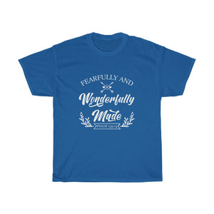 Fearfully And Wonderfully Made Unisex Tee - Adventist Apparel