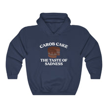 Load image into Gallery viewer, Carob Cake Sadness Hoodie - Adventist Apparel