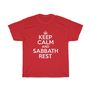 Keep Calm Sabbath Rest Unisex Tee - Adventist Apparel