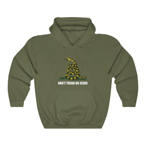 Don't Tread On Jesus Hoodie - Adventist Apparel