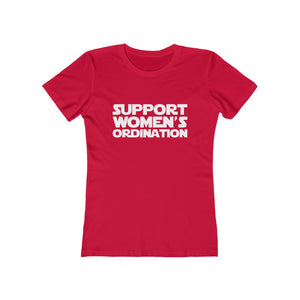 Support Women's Ordination Women's Tee - Adventist Apparel