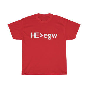 He Is Greater Than EGW Unisex Tee - Adventist Apparel