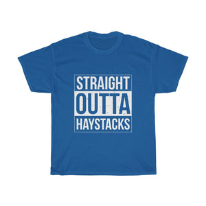 Straight Outta Haystacks Unisex Tee - Adventist Apparel
