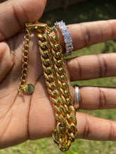 Load image into Gallery viewer, Cuban link anklet - 24KByMarie