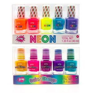 Vernis à ongles 5 pcs assortis
