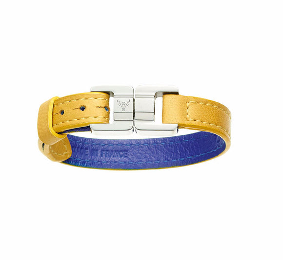 Candice Lambskin Tournesol Thin Bracelet