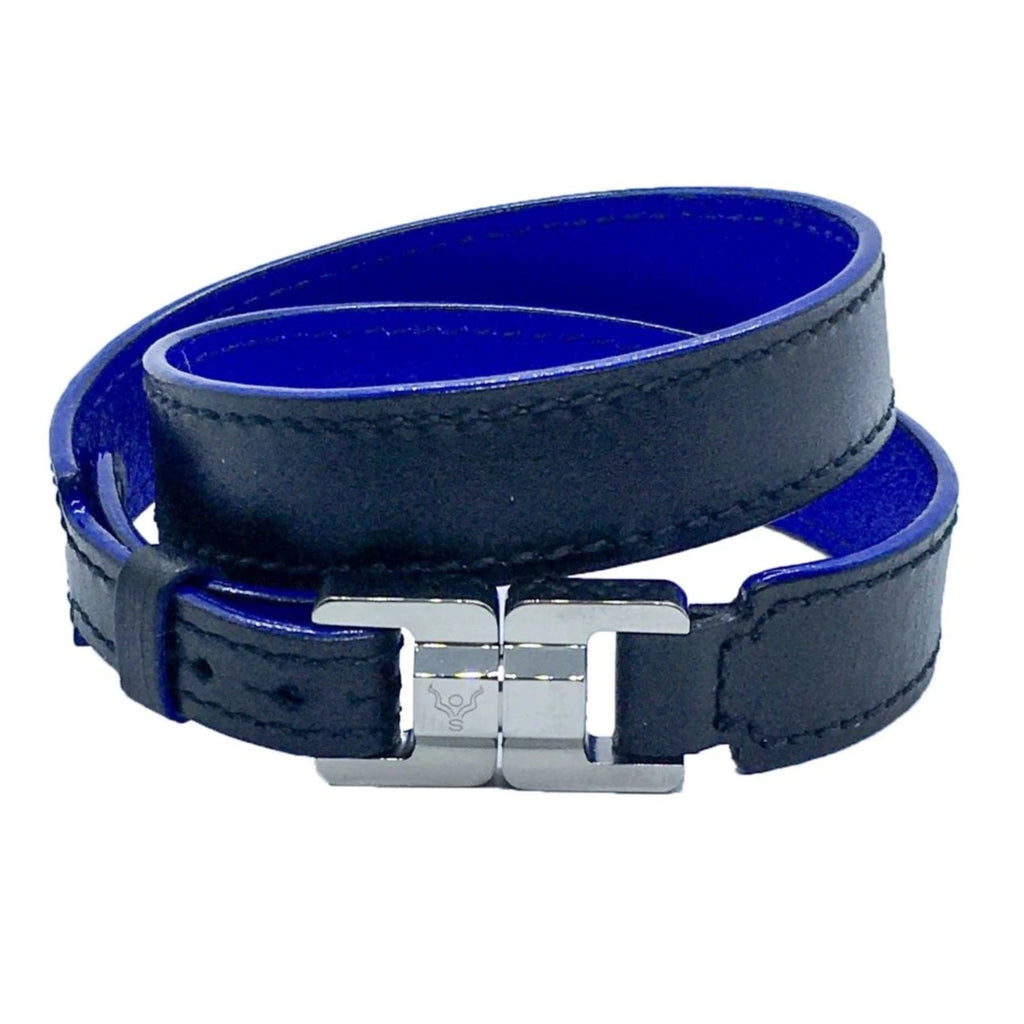 Henry Men's Double Wrap Leather Bracelet