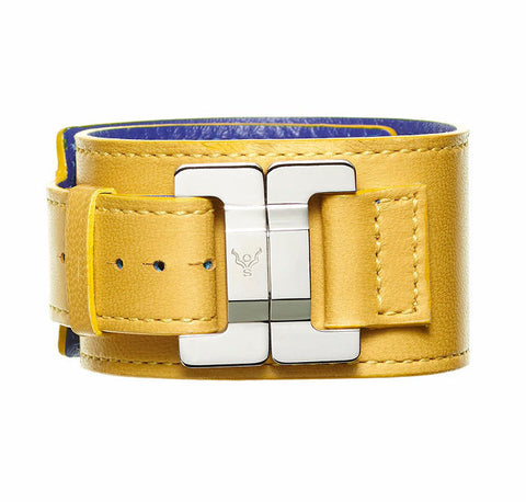 Julia Tournesol Lambskin Narrow Cuff