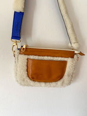 NEW Shearling Leather Bag