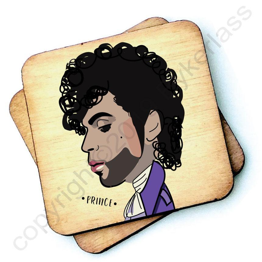 Prince - Character Wooden Coaster by Wotmalike