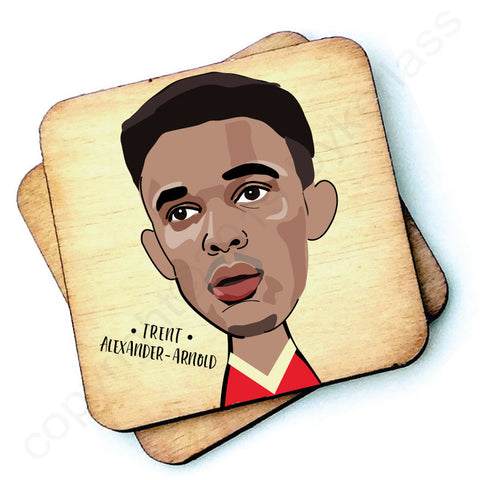 Trent Alexander - Arnold - Character Wooden Coaster - RWC1