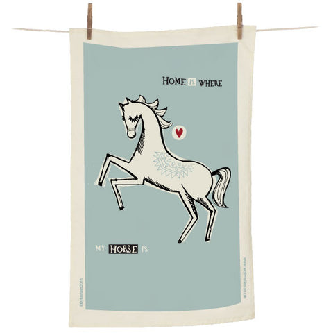 Home is Where My Horse is - Horse Tea Towel (CHTT1)