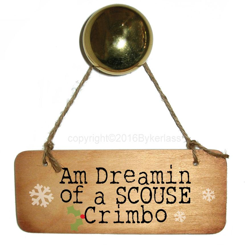 Am Dreamin Of A SCOUSE Crimbo by Wotmalike