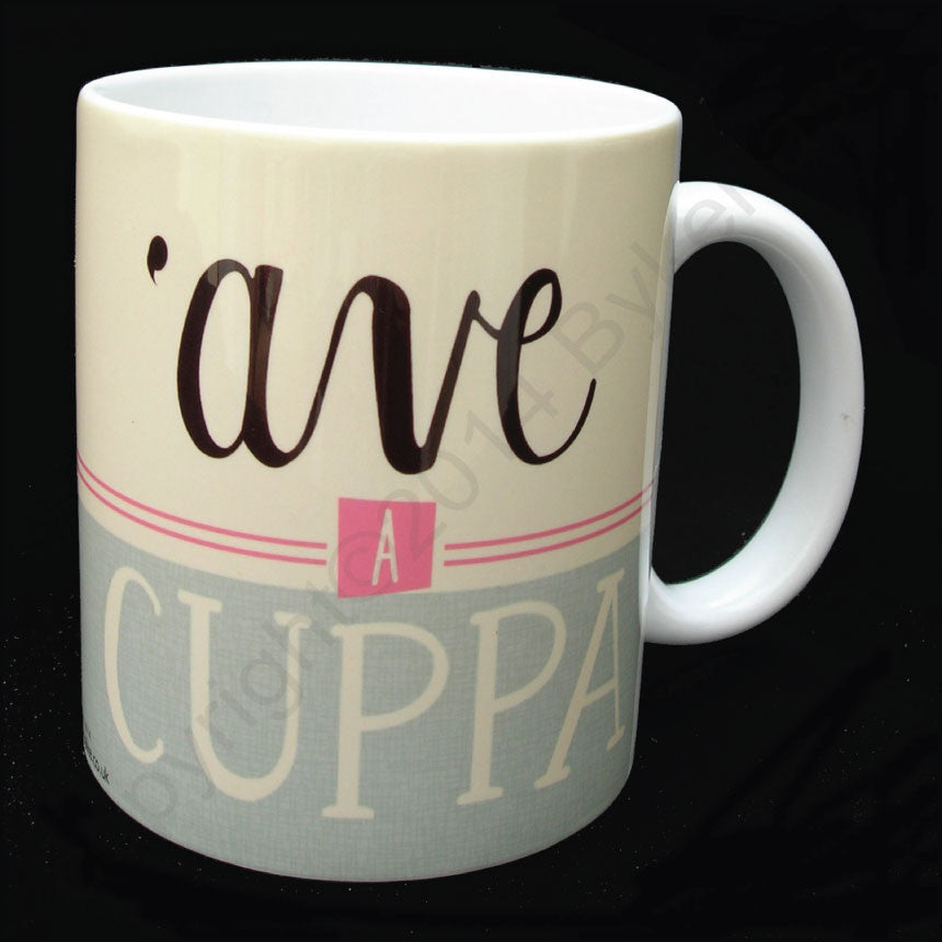 Ave A Cuppa Yorkshire Speak Mug Great Yorkshire Gifts