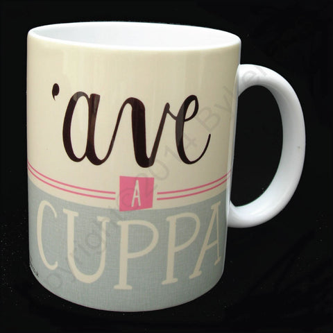 Ave A Cuppa Yorkshire Speak Mug (YSM2)