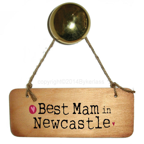 Best Mam/Mum/Mammy/Mummy in Place Name  Personalised Wooden Sign - RWS1