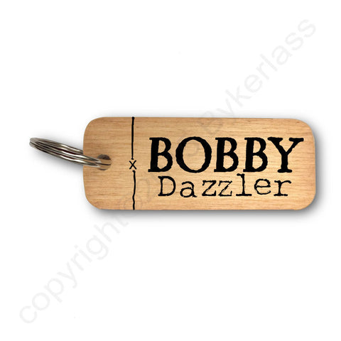 Bobby Dazzler Yorkshire Rustic Wooden Keyrings - RWKR1