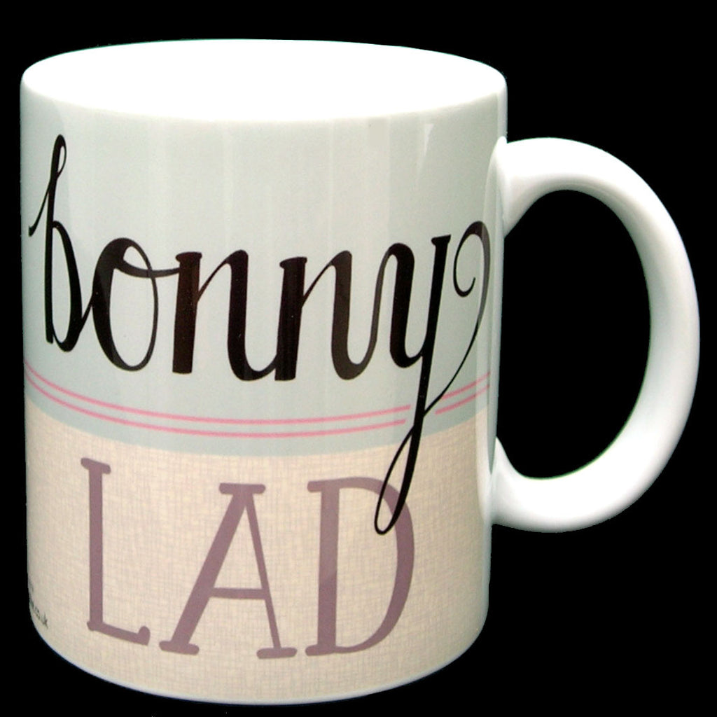 Bonny Lad North East Speak Geordie Mug