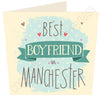 Best Boyfriend in ......  Personalised Card MB13