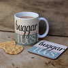 Buggar Lugs Coaster by Wotmalike makers of REGIONAL gifts