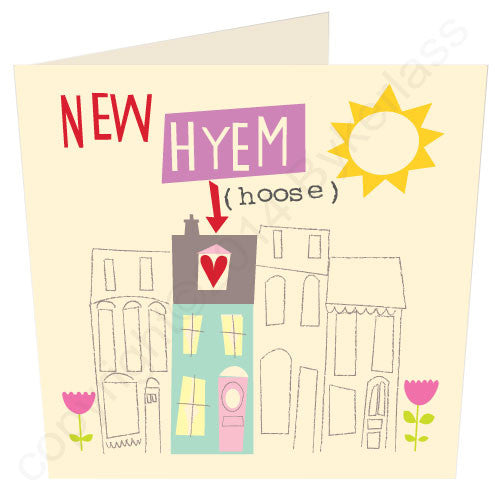 New Home (hyem/hoose) - Northumbrian Card