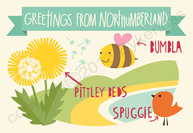 Canny Good Northumbrian Postcards 1