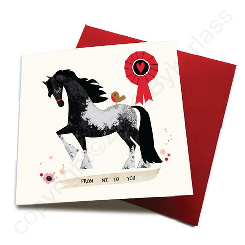 From Me To You - Horse Greeting Card  CHDS9