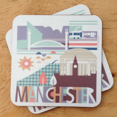 City Scape Manchester Coaster (NDCityC)
