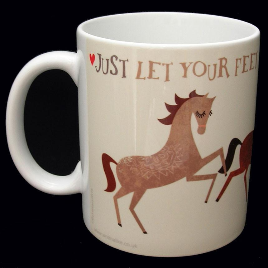 Clippity Clop - Horse Mug Charlton Hall Designs