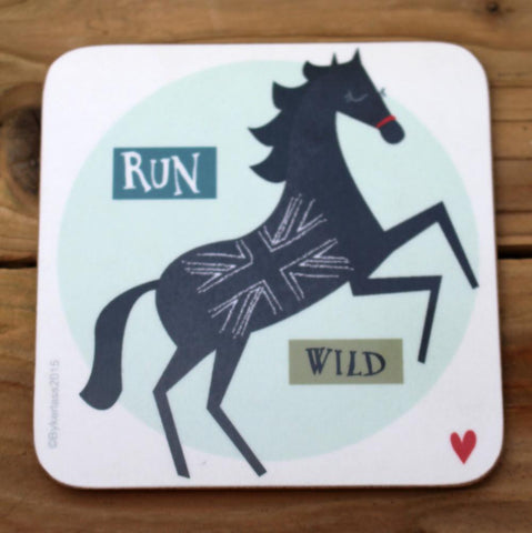 Run Wild - Horse Coaster (CHC3)
