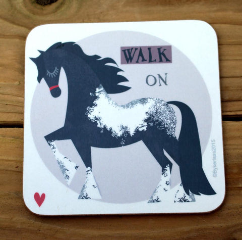 Walk On - Horse Coaster(CHC4)