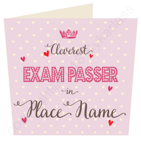 Cleverest Exam Passer in...... Rose Card (MB34) Exams