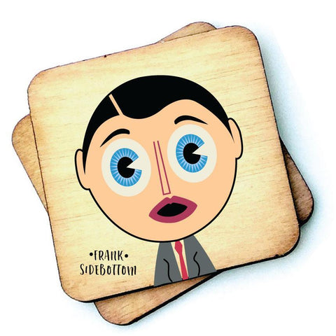 Frank Sidebottom - Character Wooden Coaster - RWC1