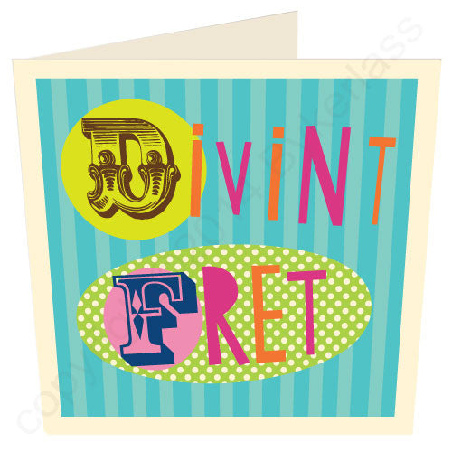 Divint Fret Geordie Card