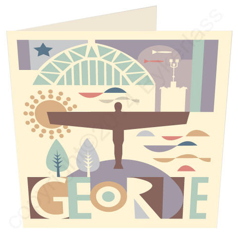 Geordie City Geordie Card (G49v2)