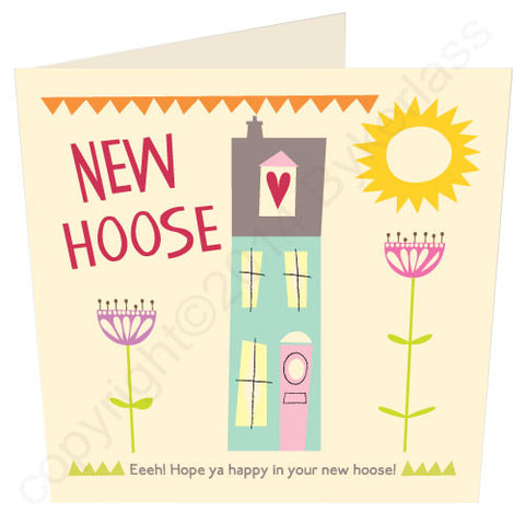 New Hoose Geordie New Home Card (G7)