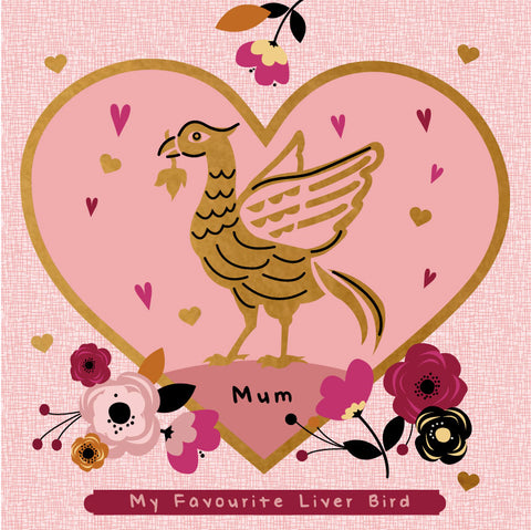 Mum My Favourite Liver Bird Scouse Card - (GF5)